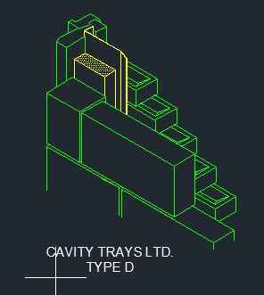 Type D Damp-Proof Course CAD 6