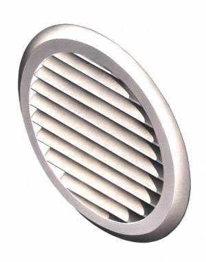 New Circular Louvered Vent for existing walls